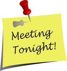 meeting tonight