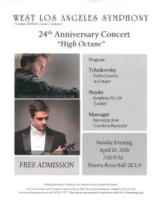HHHOA - W.LA. Symphony (High Octane)